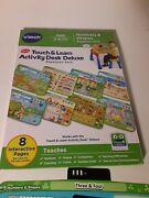 Vtech Touch And Learn Activity Desk Deluxe Expansion Pack Numbers And Shapes Age 2-4