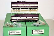 Overland Models Omi Emd F2/f3 Phase 1 Ab Diesels -tested Andcustom Painted For Acl