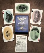 Excellent Yellowstone National Park Antique Souvenir Playing Cards 1910andrsquos Haynes