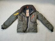 Parajumpers Pjs Usaf Women's Goose-down Lined Nylon Gobi Jacket Size Small 44