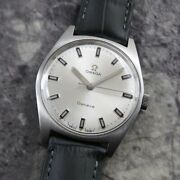 Omega Geneve Rare Index Original Dial Manual Winding Vintage Watch 1970and039s