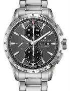 Brand New Hamilton Menand039s Broadway Auto Chrono Stainless Steel Watch H43516131