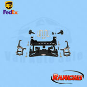 Suspension 4 Front And 2.5 Rear Lift Kit Rancho For 2010-2014 Ford F-150 Stx 4wd