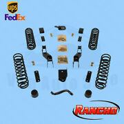 Suspension Lift Kit Rancho For 2010 Jeep Wrangler Unlimited Islander 4wd