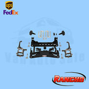 Suspension 4 Front And 2.5 Rear Lift Kit Rancho For 2010-2014 Ford F-150 Xlt 4wd