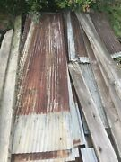 100 Sheets Barn Tin Corrugated Metal Reclaimed Salvage 10andrsquolong