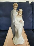 New Nao By Lladro Love Always Bride And Groom Porcelain Figurine 1437