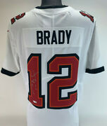 Tom Brady Signed Tampa Bay Buccaneers Autograph Nike Limited Jersey Fanatics
