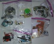 Lot Of 8 Mcfarlane Rick And Morty Spaceship Garage Construction Lab Sets - Used