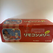Vintage Celluloid Merry Go Round Baby Wind Up Toy Canelon Japan No. 102-980