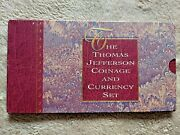 1993 Thomas Jefferson Coinage And Currency Set Rare Star Note 🌟