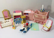 Fisher Price Loving Family Dollhouse Baby Nursery With Musical Lighted Crib 1m