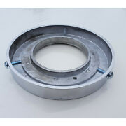 Polished Aluminum Mounting Ring For Gas Pump Globe Gm103