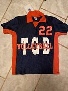 Vintage Russell Athletic Womens Volleyball Jersey Size M