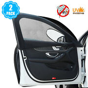 Car Front Row Window Screen Mesh Cover Privacy Mosquito Bugs Net Sun Protection
