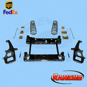 Suspension Lift Kit Rancho For 2012 Ram 1500 Outdoorsman 4wd