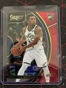 2017/18 Donovan Mitchell Select 11 Rc Red/maroon 123/199 Prizm