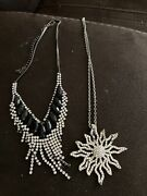 Jewery Costume Necklace Earrings Ring