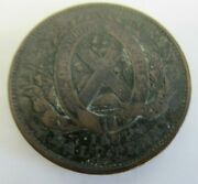 Province Of Canada 1837 One Half Penny --- Rare Coin