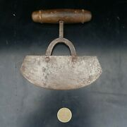 Antique Food Chopper - Great Weight And Quality Old Kitchen Tool