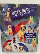 Bepuzzled Impossibles Puzzle Raining Cats And Dogs 750 Piece Borderless