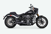 New Freedom Exhaust Turnout 21 Exhaust Hd00810 Black/black Sculpted Tip