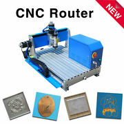 800w Water-cooling Spindle Rs-4060 Cnc Router Engraving Machine With Mach 3