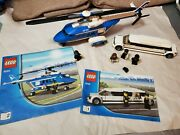 Lego Helicopter And Limousine 3222 Pre-owned 100 Complete