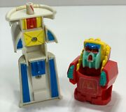 1990 Mcdonalds Happy Meal Toys Changeables And039transformersand039 Fries And Coke Drink Cup