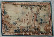Antique Rug/carpet/textile/tapestry European French Needlepoint 1900