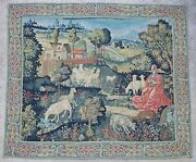 Antique Rug/carpet/textile/tapestry European French 20th Century