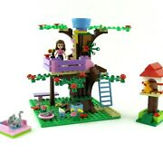 Lego Friends Olivia's Tree House 3065 Complete With Manual Minifigure Retired
