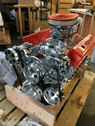 383 R Stroker Motor 530hp Roller Turnkey A/c 210cnc Heads Chevy Crate Engine Sbc