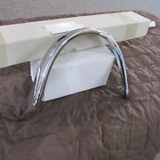 1955 Chevy Nomad Right Passenger Side Eyebrow Part Number 3717002 Re Chromed