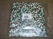 Longaberger, 5 Yards Of Uncut Traditional Holly Fabric. New