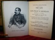 The Life Of Gen. Philip H. Sheridan 1888 First Ed. 445 Pps.more Than 60 Illus.
