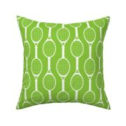 Tennis Outdoor Sports Summer Throw Pillow Cover W Optional Insert By Roostery