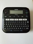 New Brother P-touch Ptd210 Label Maker Multiple Font Styles Black