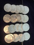 1993 1999 2005 2009 Roll Of 20 1 Oz American Silver Eagle Coins