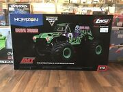 Lmt 4wd Solid Axle Monster Truck Rtr Grave Digger New In Box
