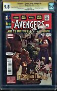 Avengers 1 Coming Of The Avengers Cgc 9.8 Ss Stan Lee El Capitan Theater