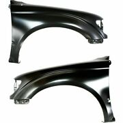 Fender For 2001-2004 Toyota Tacoma Set Of 2 Front Left And Right Side Primed Steel