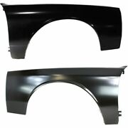 Fender Set For 1980-1990 Chevrolet Caprice Front Left And Right Primed Steel Pair
