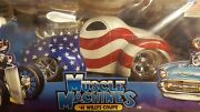 Muscle Machines 118 Stars And Stripes And03941 Willys Coupe Still In Original Box