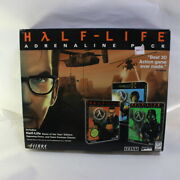 Unopened Nos Half-life Adrenaline Pack Team Fortress Opposing Force Pc Big Box