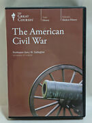 The Great Courses The American Civil War Course 8-dvd Set Gary Gallagher