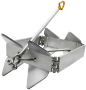 Extreme Max 3006.6652 Boattector Zinc-plated Cube Anchor Box Style - 19 Lbs.