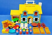 Fisher Price Play Family House 952 Little People Vintage Spielhaus 70er Gelb