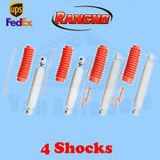 Rancho Rs5000x Frontandrear 0 Lift Shocks For Chevy Blazer 4wd 92-94 Kit 4