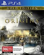 Assassins Creed Origins Gold Edition Ps4 Playstation 4 Action Adventure Rpg Game